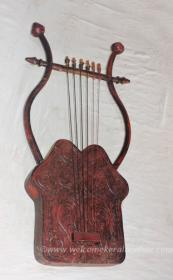 Musical Instrument - David's Harp from Israel