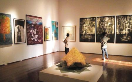 Exhibition Held at Durbar Hall Art Gallery. Photo : Prasanth Nambiar.