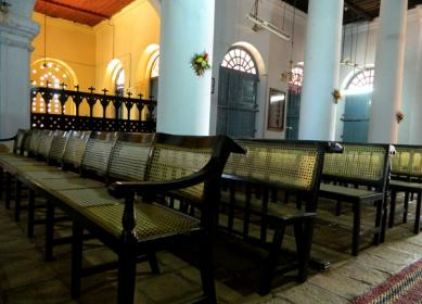 prayer hall at St John's Anglican Church- Kannur
