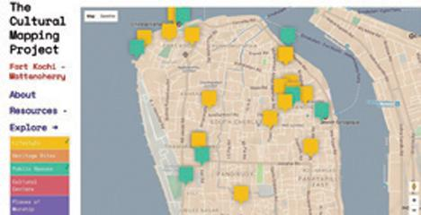 Sahapedia into the Cultural Mapping of Fort Kochi