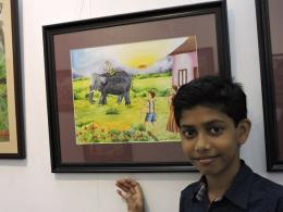 Rahul - 8th Standard - Pictures selected for the Children's Day Stamp