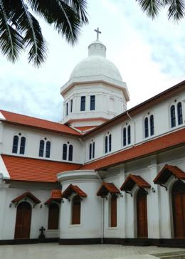 Matri dei (Mother of God) cathedral in Kozhikode