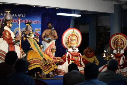 'Bakavadham' Kathakali at Golden Jubilee Celebration