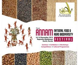 Third Annam National Food and Agro-biodiversity Festival (ANNAM 2015)
